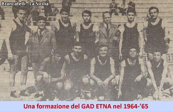 Gad Etna 1964-65