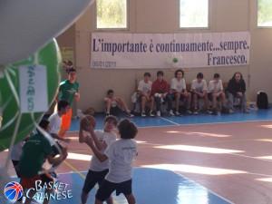 La seconda edizione del memorial Arcidiacono, nel 2011 (Basket Catanese)