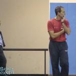 Capobianco a sinistra, Marchesano a destra, maestro e allievo (Basket Catanese)