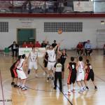 La palla a due della gara-3 Edil Tomarchio-Amatori (R. Lembo, uff.stampa Messina)