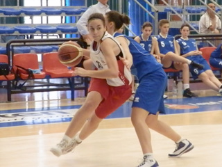 Carolina Pappalardo in azione (arch. Lazùr)