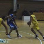 Riccardo Arcidiacono in un'azione durante Cus Catania-Mascalucia (Basket Catanese)