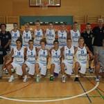 La Nazionale U14 che ha partecipato al Torneo BAM in Slovenia (Fip.it)