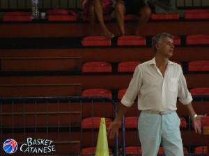 Carmelo Viola dell'Olimpia Battiati (Basket Catanese)