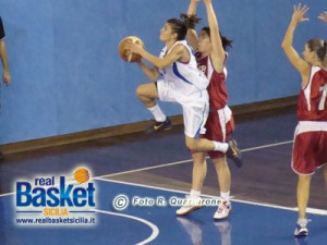 Silvia Gambino in azione