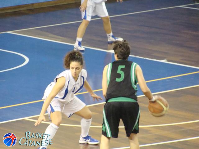 Giorgia Guerri, 10 punti a Palermo (foto Basketct)