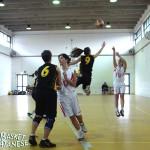 Il campo di Valverde visto attraverso un'azione in Valverde-Elge di due anni fa (Basket Catanese)