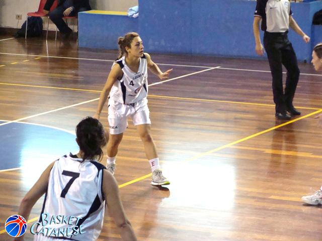 Giorgia Longo, play della Lazur Catania