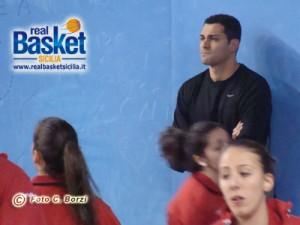 Salvo Coppa, allenatore Rainbow Catania