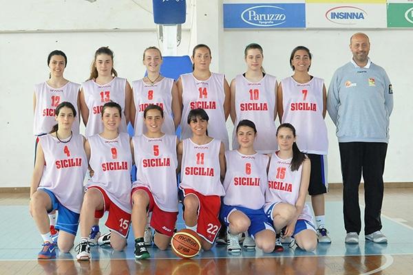 La selezione siciliana che andrà ai Giochi delle isole (foto Roberto Lo Bianco)