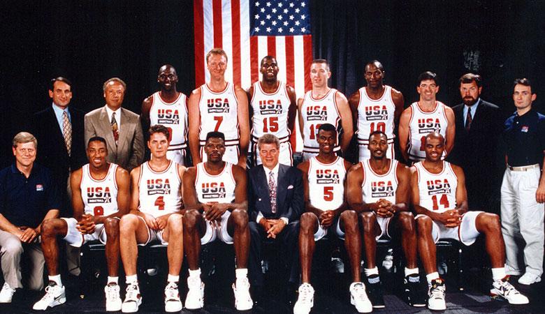 Col Dream Team statunitense tutti protagonisti nel torneo olimpico maschile di basket; ma l'Italia non c'era!