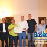 Maurizio Manno e Dino Panicola del B.C. Valverde premiati dal comitato provinciale della Fip