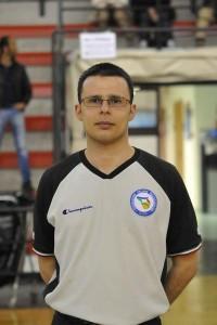 Andrea Federico Castorina, istruttore regionale miniarbitri (foto FIP Sicilia)