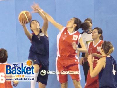 Giuliana Bellomia nella partita contro Riposto dello scorso campionato