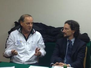 Eugenio Crotti e Antonio Rescifina (FIP Sicilia)