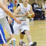 Cristiano Ferrara durante le finali U19 2013 (foto R. Quartarone)