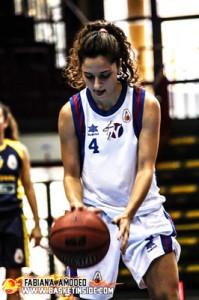 Giorgia Guerri durante la partita di andata (foto Fabiana Amodeo)