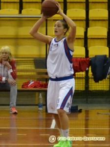 Enrica Pavia durante l'ultima partita contro Ancona (foto R. Quartarone)