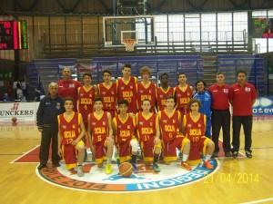 La Sicilia maschile al Trofeo delle Regioni 2014 (arch. Vincenzo Mollica)