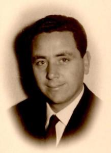 Un giovane Angelo Casabianca: fu giocatore, dirigente e giornalista