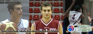 Il titolo di Basket Catanese sul passaggio di Marzo a Palermo