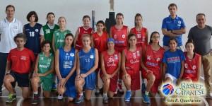 Le ragazze che si sono presentate al primo raduno di Azzurrina a Catania (foto R. Quartarone)