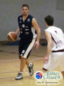 Carmelo Mammana con la maglia di Ragusa (foto R. Quartarone)