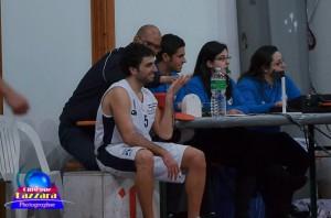 Damiano Viola al tavolo, con le colleghe Mostile e Salomone, durante Gravina-Racalmuto (foto G. Lazzara)