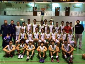 I gruppi della Mens Sana Under-17 e 15 pronti all'esordio in campionato