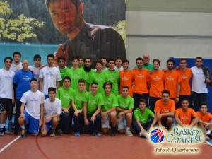 Gli Under-19 di Gravina, Cus Catania e Polisportiva Alfa (foto R. Quartarone)