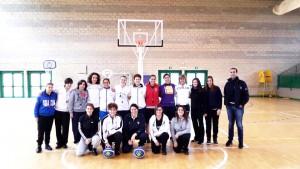 Il gruppo delle arbitri partecipanti all'evento (foto U.S. FIP Sicilia)