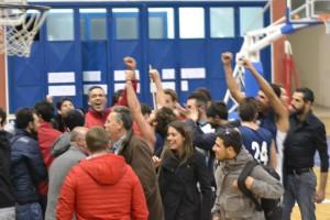 Festa della squadra al PalaCossiga (foto Pol. Alfa)