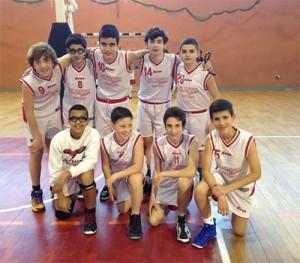 L'Under-14 dell'Olimpia Battiati