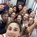 Il selfie delle Under-15 della Rainbow