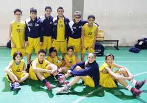 L'Under-13 del CP Giarre che ha vinto il girone jonico