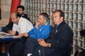 Andrea Capobianco, Antonio Bocchino e Simone Pianigiani durante le Giornate azzurre