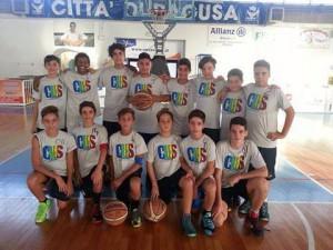 La formazione del Cubs Catania ammessa alle finali Under-14