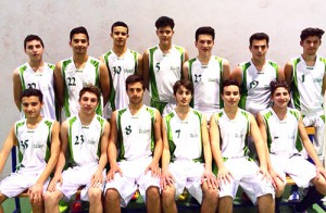 La squadra Under-17 della Mens Sana Mascalucia