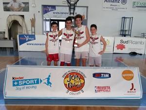 Andrea Lo Iacono, Gabriele Signorino, Alessio Ventura, Andrea Galasso: i vincitori del Join the Game Sicilia Under-13 2015