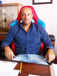 Il team manager del Gravina, Livio Lo Nigro