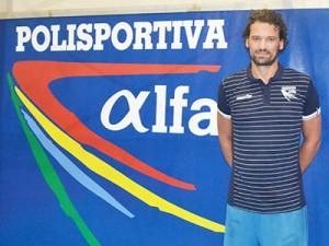 Matteo Gottini con la polo dell'Alfa