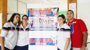 La presentazione del progetto scuola (foto U.S.Rainbow)