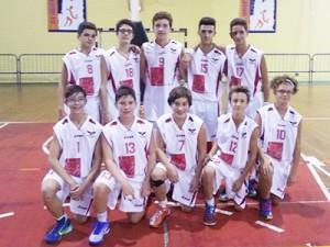 La formazione dell'Olimpia Battiati Under-14