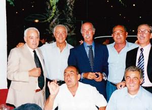 La rimpatriata della CUS Jonica nel 2001 (archivio F. Bezoari)