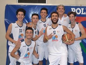 L'Alfa Under-20 con coach Taormina (foto U. Pioletti)