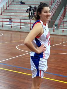 Gisel Villarruel durante la partita Rainbow-Ad Maiora