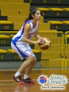 Sara Messina, esordio con due punti (foto R. Quartarone)