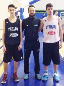 Mattia Musumeci, Federico Vallesi e Giuseppe Spanò