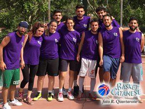 La squadra di Economia, campionessa del torneo (foto R. Quartarone)