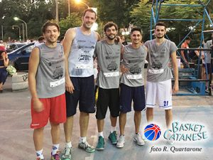 I vincitori del torneo pro: Ferrara, Verzì, Consoli, Barbera (foto R. Quartarone)